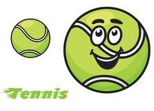 Tennis icon or emblem Royalty Free Stock Photos