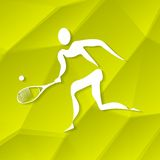 Tennis Icon Royalty Free Stock Photos