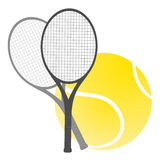 Tennis illustration Stock Photography