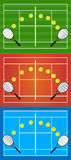 Tennis Illustrations Stock Photos