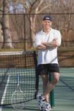 tennis instructeur Royalty-vrije Stock Afbeeldingen