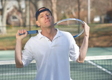 Tennis instructor Stock Photos