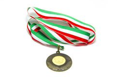 Tennis italian medal Stock Photos