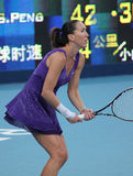 tennis jankovic di srb del giocatore di jelena Fotografia Stock
