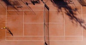 Tennis jonge spelers royalty-vrije stock foto's