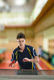 Tennis-joueur Photo libre de droits