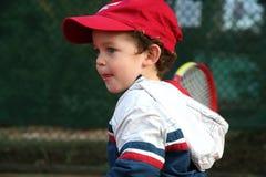 Tennis-Junge Stockfotografie