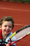 Tennis-Junge Lizenzfreies Stockbild