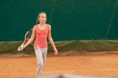 Tennis kid tournament Stock Photos