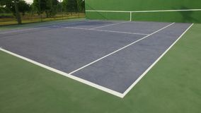 Tennis knock board. On a sunny day royalty free stock photos