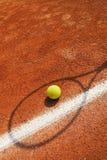 Tennis-Konzept Lizenzfreies Stockfoto
