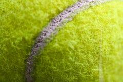 Tennis-Kugel-Abschluss oben Lizenzfreies Stockfoto