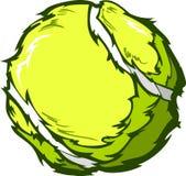 Tennis-Kugel-Bild-Schablone Lizenzfreies Stockfoto