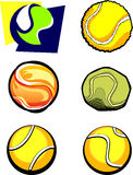 Tennis-Kugel-Bilder Lizenzfreie Stockfotos