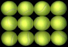Tennis-Kugeln stockbilder