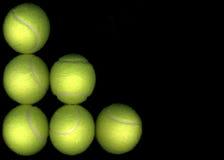Tennis-Kugeln stockfotografie