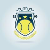 Tennis logo,championship,tournament,decal,vector illustration Stock Image