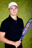 Tennis man Stock Images