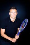 Tennis man Stock Photos
