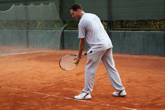 Tennis man Royalty Free Stock Photo