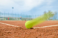 Tennis match Royalty Free Stock Image
