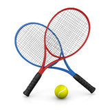 Tennis Match Stock Photography