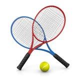 Tennis Match Stock Photography