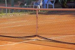 Tennis net Stock Images