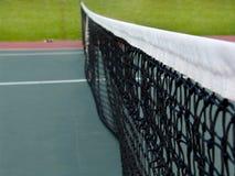 Tennis net. Close up on a tennis net stock photography