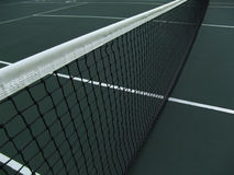 Tennis net. Perspective view, highly detailed tennis net royalty free stock photography