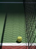Tennis and net Royalty Free Stock Photos