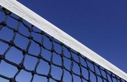 Tennis net. Against a blue sky Royalty Free Stock Photos