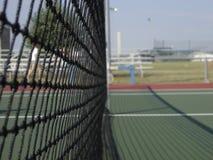 Tennis Net. Up close picture of a tennis net stock photos