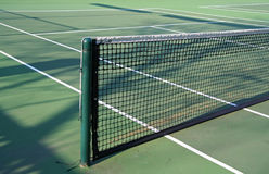Tennis Net. Summer Time Tennis Game royalty free stock photo