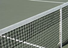 Tennis net center Royalty Free Stock Photography