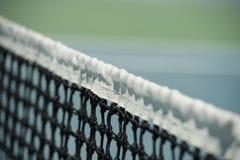 Tennis net close up Royalty Free Stock Photo