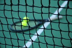 Tennis Net Closeup Stock Photos