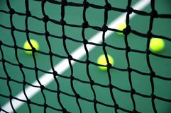 Tennis Net Closeup Stock Images