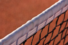 Tennis net closeup Stock Image