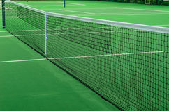 Tennis Net. On a court Royalty Free Stock Images