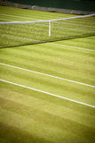 Tennis net and court Stock Photography