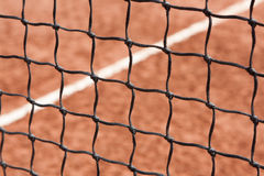 Tennis, net, court Stock Photos