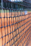 Tennis net detail Royalty Free Stock Image