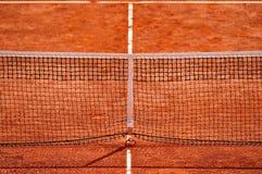 Tennis net detail Royalty Free Stock Image