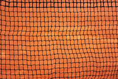 Tennis net detail Royalty Free Stock Photos