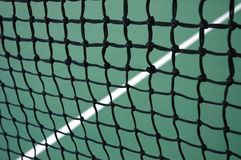 Tennis Net and Line Royalty Free Stock Image
