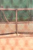 Tennis net outdoor closeup Royalty Free Stock Photography