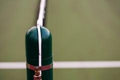 Tennis net pole Stock Images