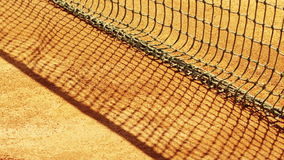 Tennis net with shallow depth of field. Stock Photography