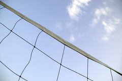 Tennis net in sky background Stock Image